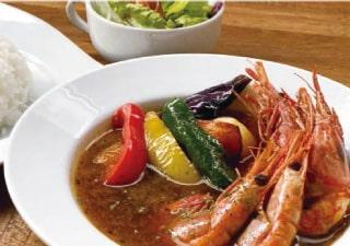 甘海老のスープカレー