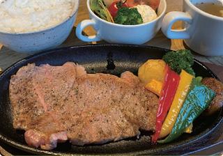 ふらの和牛のステーキセット