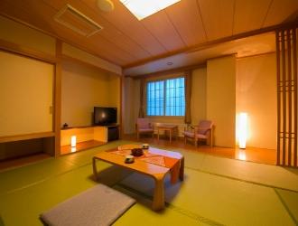 星遊館客室、和室